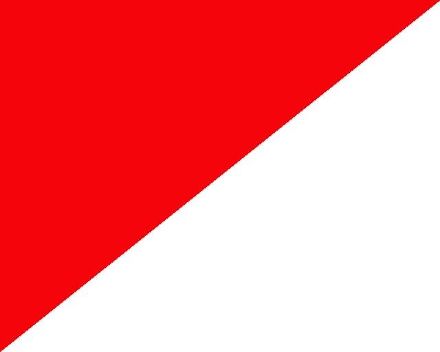 Czerwono/białe